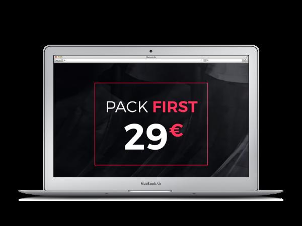 Logo pas cher - first